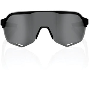 100% Glasses S2 - Soft Tact Black - Smoke Lens