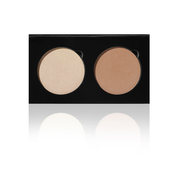 Duo Palette - HD Contour/Highlighter - CANDLELIT / HOLLOW