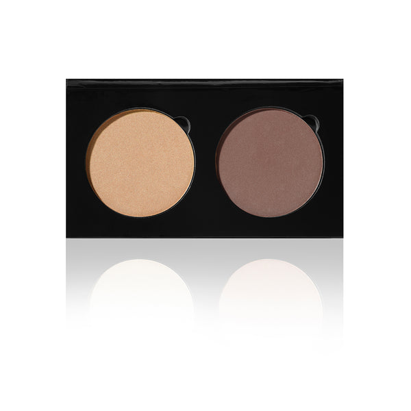 DUO PALETTE - HD Contour/Highlighter - SUNKISSED / SCULPT
