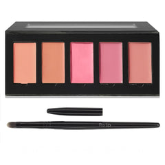 Naughty Nudes Lip Palette & Lip Brush Set