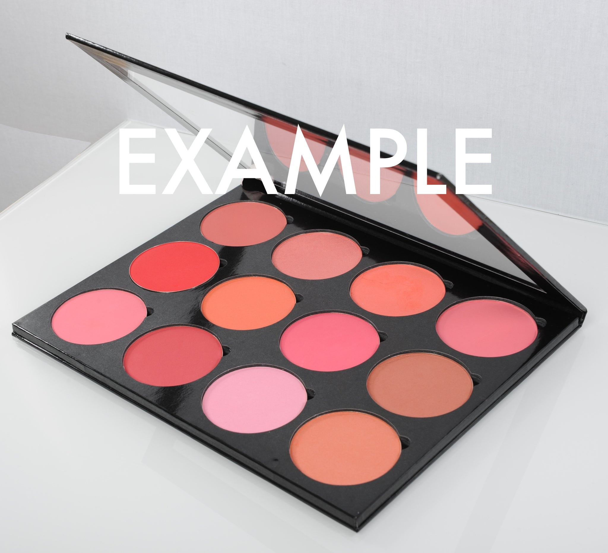Empty 12 Palette - Blusher/Foundation (Not Included)