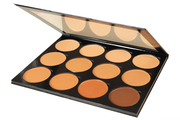 Pro 12 Flawless + Luminous mix Foundation Palette
