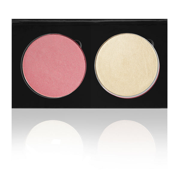SPLENDOR / FAME - BLUSH & HIGHLIGHT DUO PALETTE