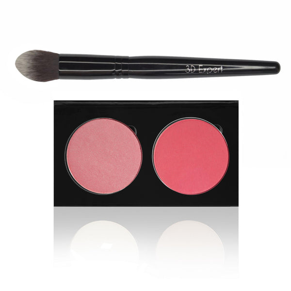 SPLENDOR / SWEET VALENTINE - BLUSH DUO PALETTE AND 3D EXPERT BRUSH SET