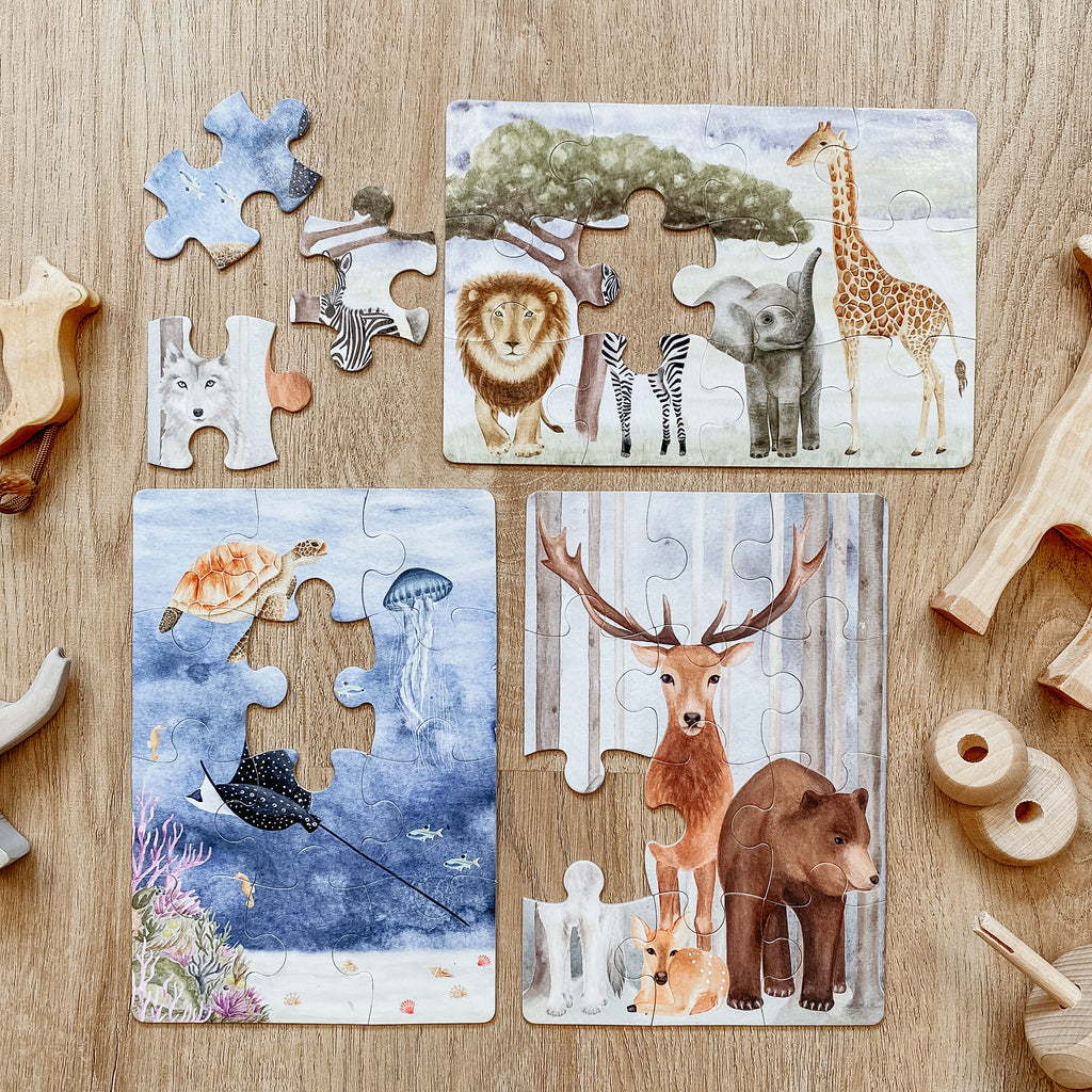NEW - The Majestic Wild Puzzle Collection