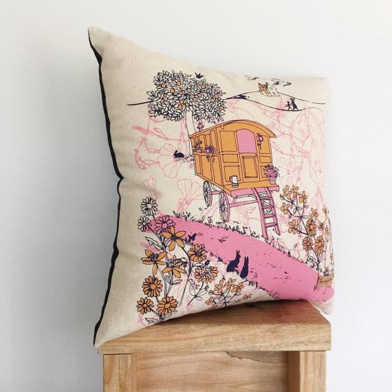 gypsy-caravan-organic-cotton-cushion-cover