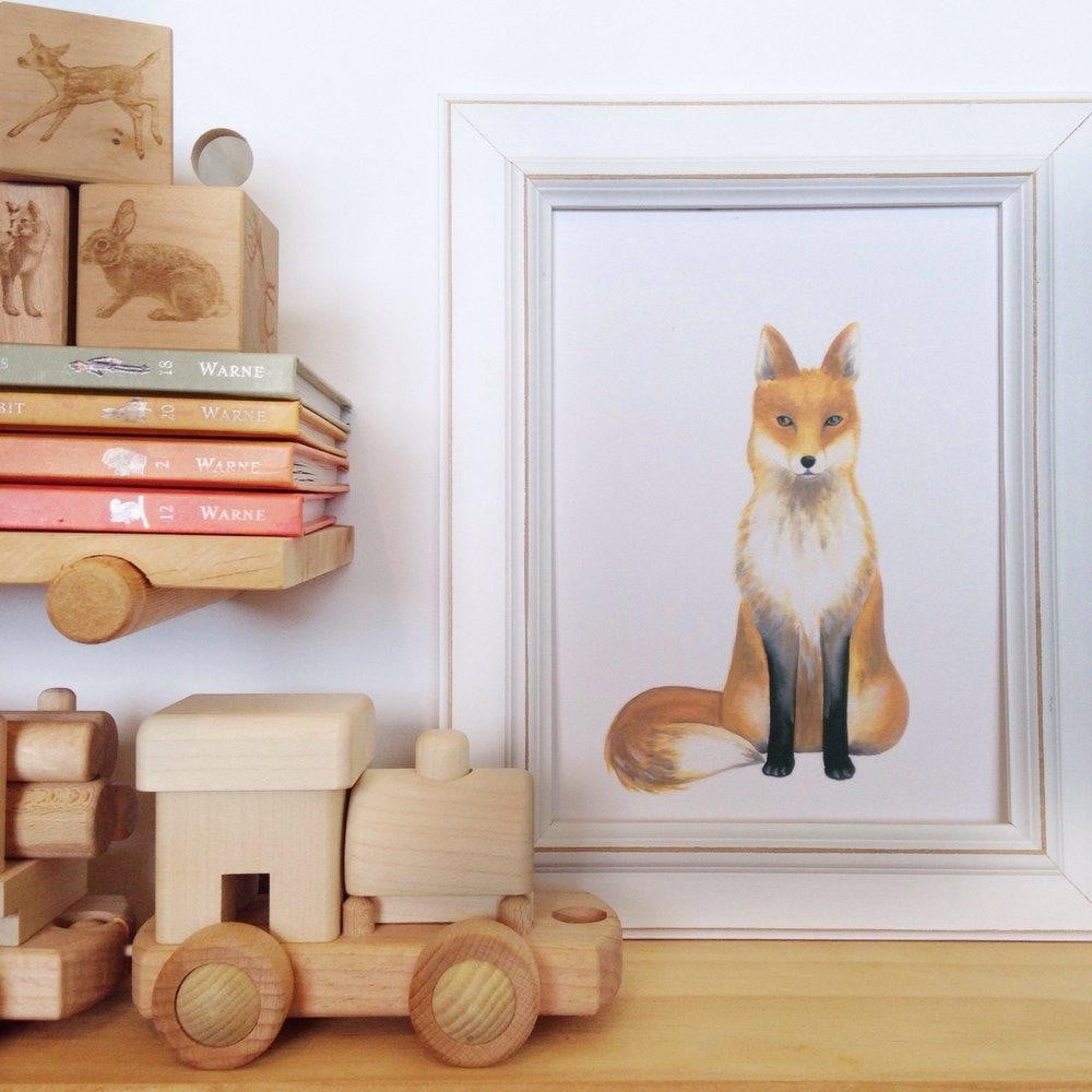 Frank-the-fox-nursery-art-print-by-jo-collier