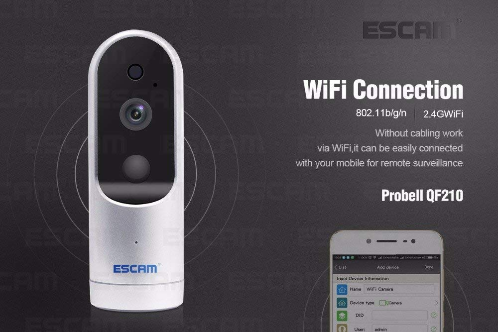 ESCAM Probell QF210 IP Camera