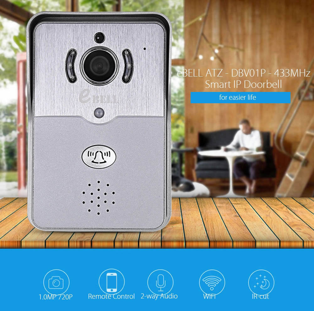 Smart WiFi Wireless IP Security Video Doorbell Camera