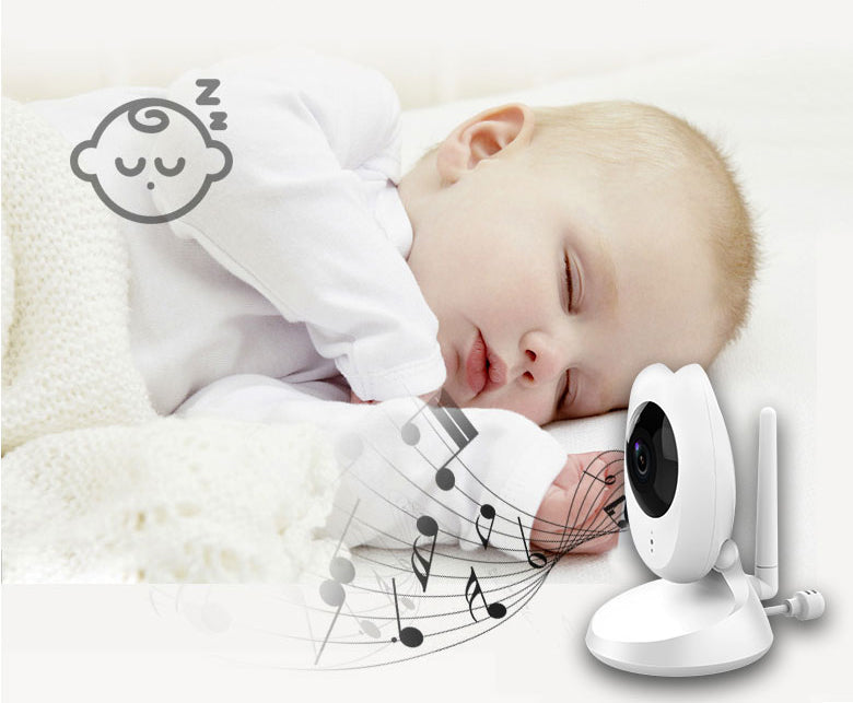 HD King bm02 4.3 HD 2.4G wireless baby monitor1