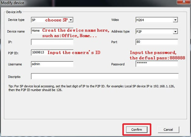 How to watch V380 IP camera live video on PC