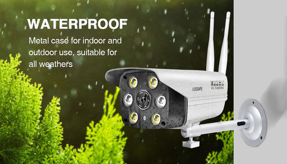 LOOSAFE HD Home Security IP Camera