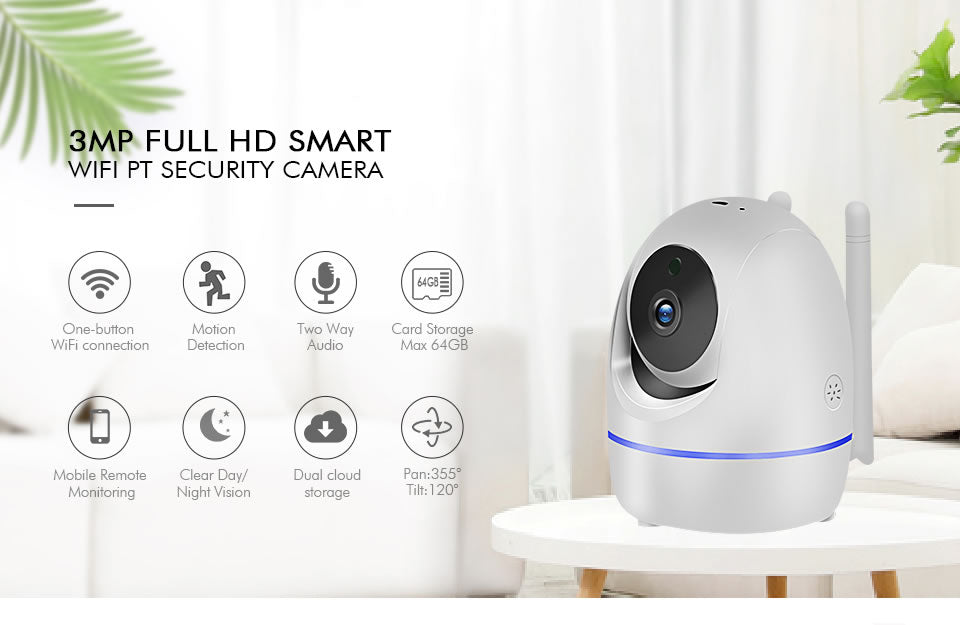 LOOSAFE Home Security IP Camera