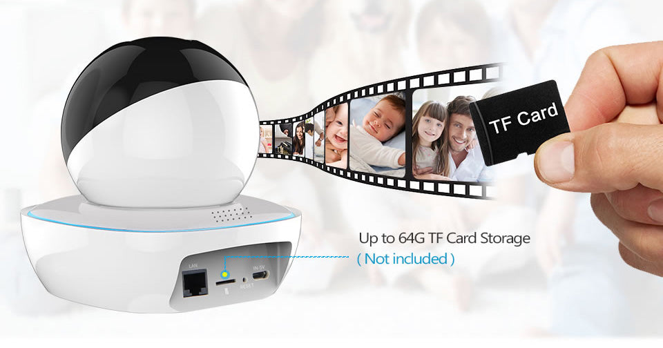 LOOSAFE indoor Security 1080p ip camera