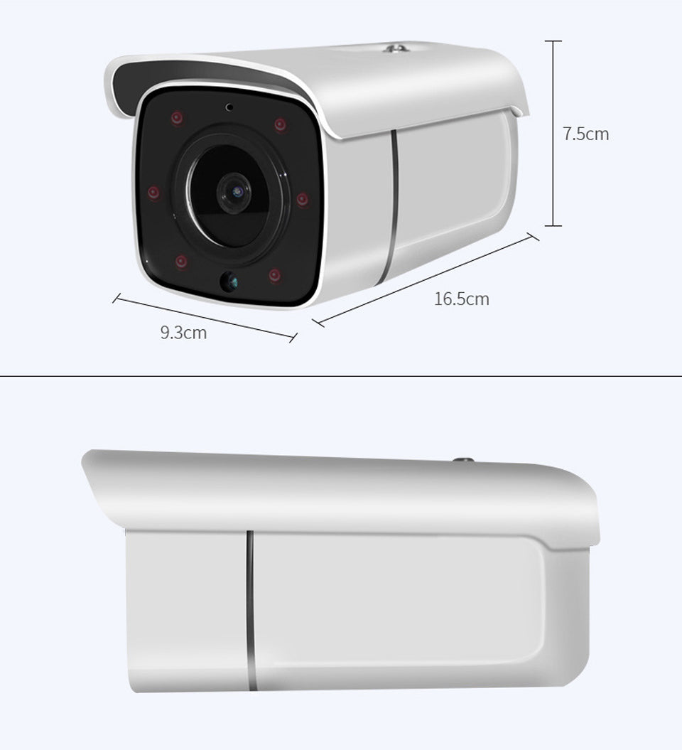 Loosafe 8MP 4K POE  50m infrared night vision H.265X  Network Monitor wifi Camera Outdoor Bullet Camera