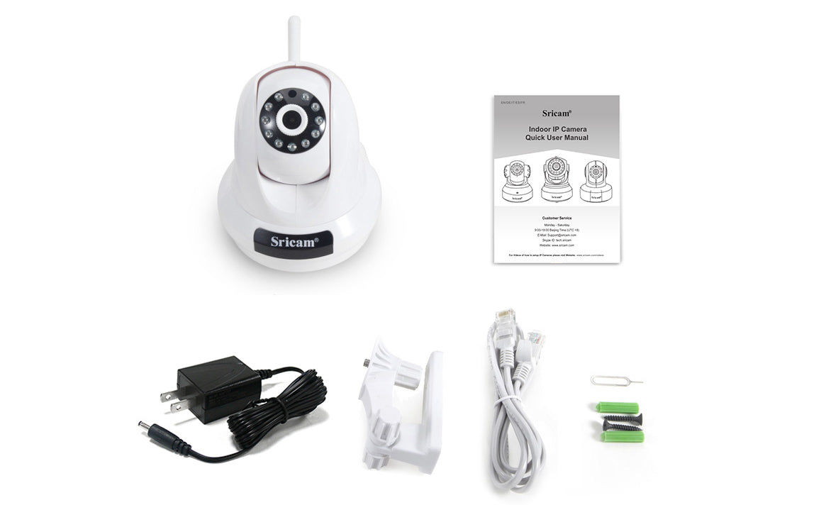 Sricam SP018 Indoor Security IP Camera