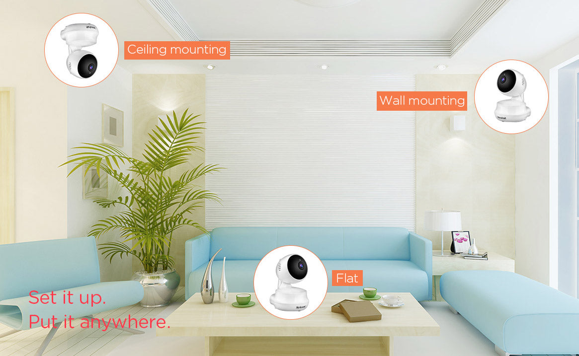 Sricam SP025 HD 720P Home Security Indoor Wifi IP Camera