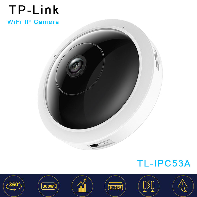 TP-Link TL-IPC53A 1.1mm Lens 300W 360 Full View Wireless WiFi IP  Camera Network Camera