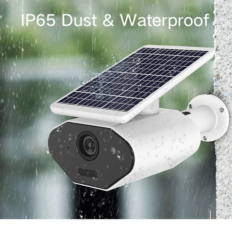 V380 2MP 1080P Solar Power Powered Waterproof  Motion Detection Infrared Night vision IP Security Camera