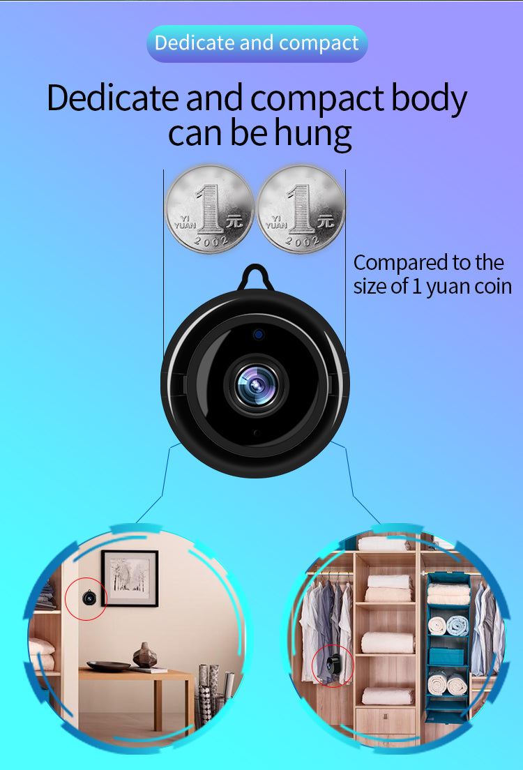 V380 360Eyes wifi mini hidden cctv spy camera