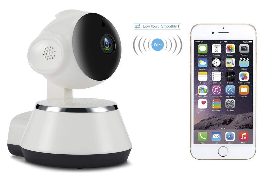 V380 Camera 720P WIFI Mobile Remote Home Security Camera