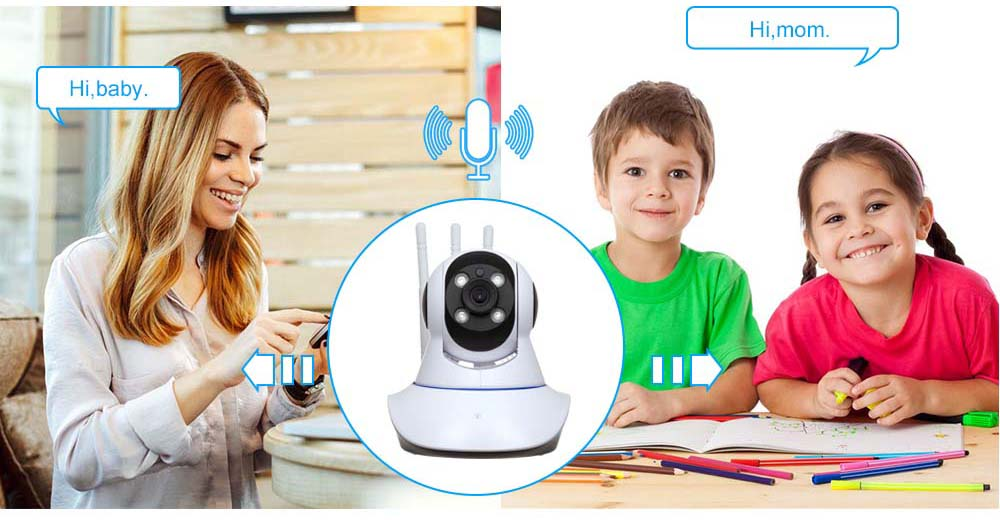 V380 Home Security Camera