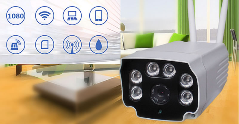 V380 1080P Wifi Night Vision Alarm Function Outdoor IP Camera