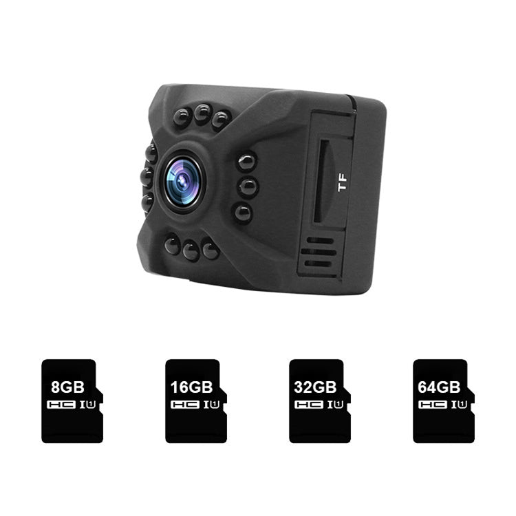 V380 X5 Wide-angle 1080p HD Small Secret Micro Mini Camera
