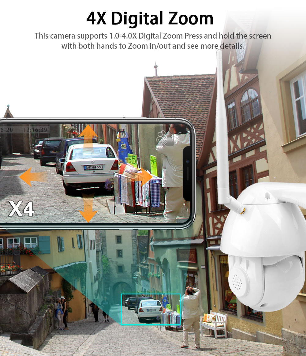 wanscam K38D Security Camera