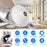 V380 1080P Bulb Camera Home Panoramic Surveillance Camera WIFI Remote Monitor