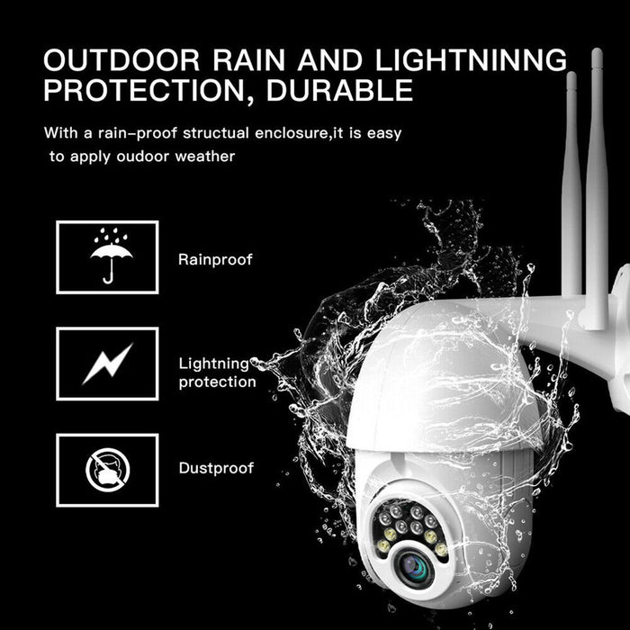 V380 Surveillance Camera Wireless Ball Machine Outdoor Waterproof  Wifi Alarm 360 Degree Surveillance Camera