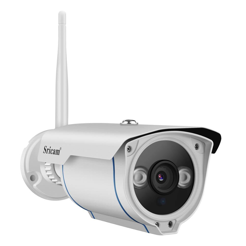 Sricam SP007 FHD 1080P Wireless Outdoor Waterproof IP Camera - V380 Camera
