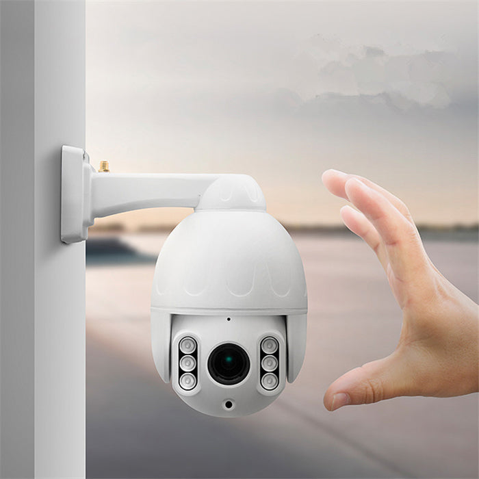 V380 5X Zoom 2MP 1080P SIM Card 3G 4G Wireless Mini PTZ Dome Outdoor Camera