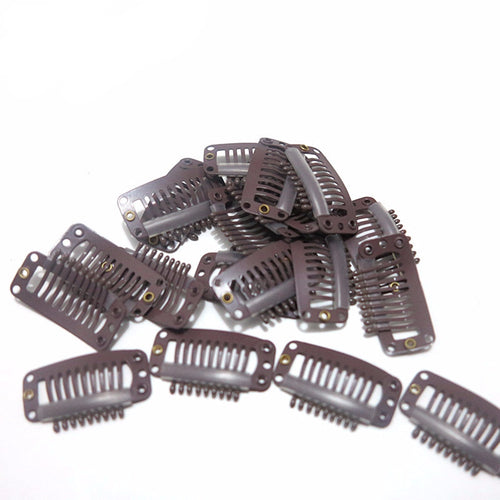 100 pieces Medium Extension Snap Clips