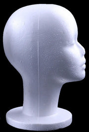 1pcs Female Foam Mannequin Head