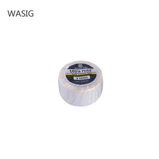 2.54cm * 3yard white Wig Lace Front Support Double Sided Adhesive Tape For Hair Extension/Toupee/Lace Wig/Pu Extension