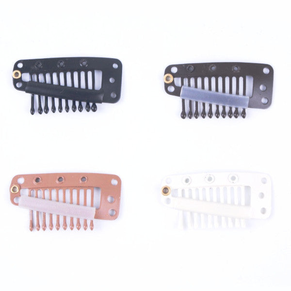 50 pcs Large Snap Clips for Hair Extensions