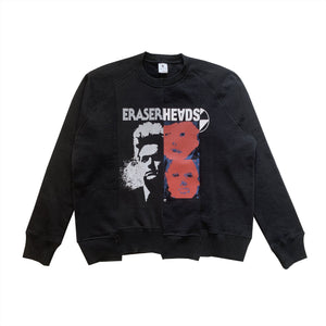 The Salvages Reconstructed Eraserheads Logo Raglan Crewneck