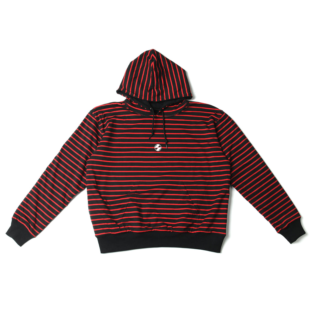 The Salvages 'REVERSO' Logo OS Hoodie (Black/Red)