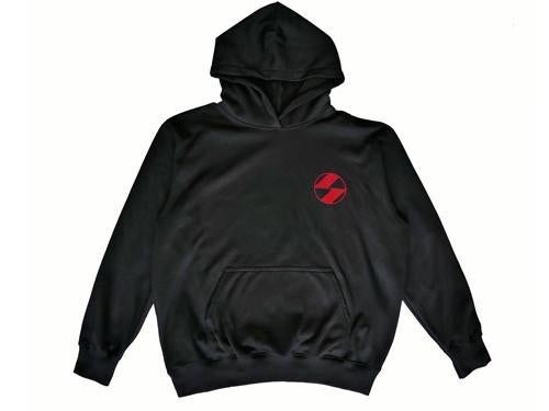 The Salvages Red Logo OS Drawstring Hoodie