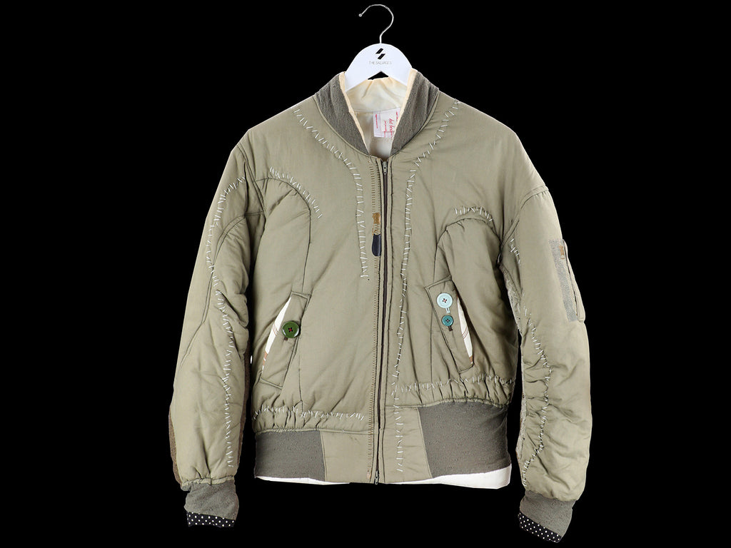 "Fall 2004 ""But Beautiful..."" Asymmetrical MA-1 Jacket by Undercover"