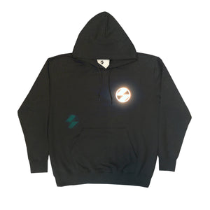 The Salvages Reflective Logo Black OS Hoodie