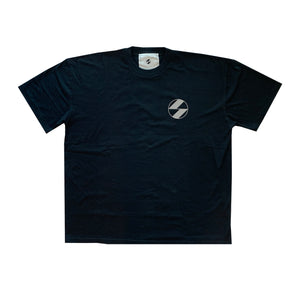 The Salvages Reflective Logo Black OS T-Shirt