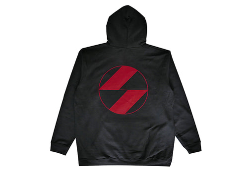 The Salvages Red Logo Hoodie