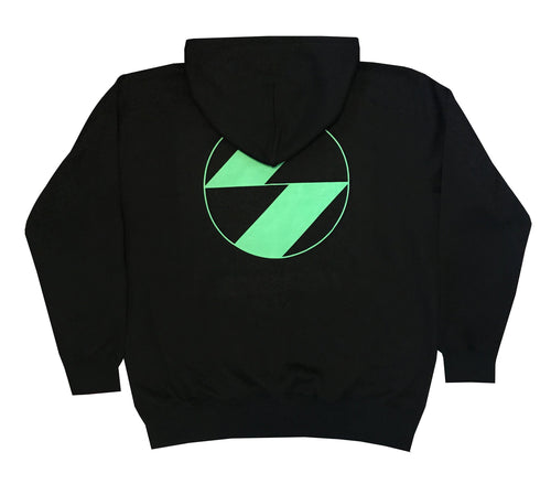 The Salvages Neon Green Logo Hoodie