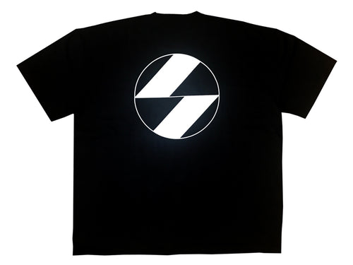 The Salvages Red Border Black OS T-shirt