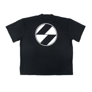 The Salvages 'REVERSO' Logo OS T-Shirt (Black)