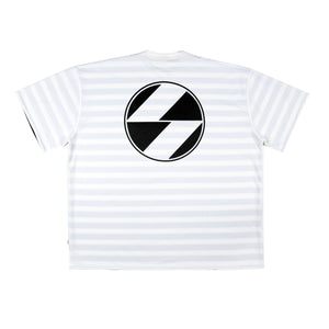 The Salvages 'REVERSO' Logo OS T-Shirt (White)