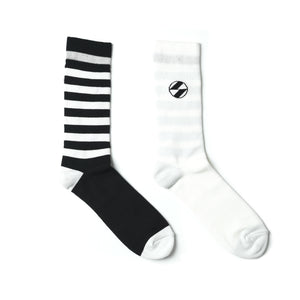 The Salvages x decka Reversible Mismatched Socks