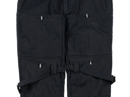 A/W99-00 Bondage Trousers with Zipped Pockets and Straps by Helmut Lang